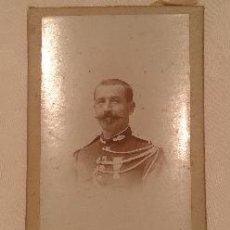 Fotografía antigua: FOTOGRAFÍA DE CORONEL FRANCÉS.. Lote 41327221