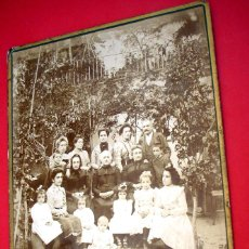 Fotografía antigua: FIGUERES - GRUPO FAMILIAR - 1890'S. Lote 41641225