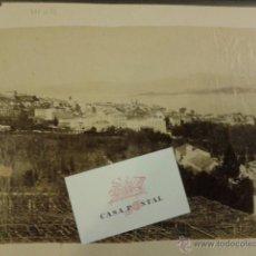 Fotografía antigua: FOTOGRAFIA ORIGINAL VIGO 1892 ALBÚMINA. VISTA PARCIAL . Lote 41835679