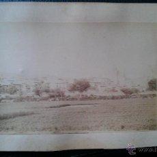 Fotografía antigua: CA. 1880. FOTOGRAFÍA DE MONTALBAN TERUEL ARAGON. Lote 42057130