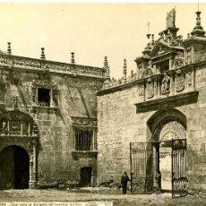Alte Fotografie - Laurent, 1564-J. Roig. Burgos. Vista interior del patio del hospital del Rey - 111696766