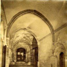 Fotografía antigua: LAURENT, 1587. LAS HUELGAS, BURGOS. CLAUSTRO DE SAN FERNANDO. Lote 42169227