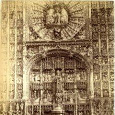 Fotografía antigua: BURGOS. IGLESIA DE SAN NICOLAS. RETABLO. L.L. 1011. Lote 42169437