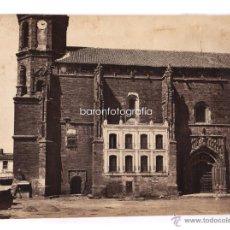 Fotografía antigua: CHARLES CLIFFORD, IGLESIA DE VALDEPEÑAS, C.1858. ALBÚMINA 27X38 CM. RARA.. Lote 42332609