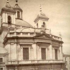 Fotografía antigua: FOTOGRAFIA MADRID IGLESIA DE SAN FRANCISCO EL GRANDE LAURENT. Lote 42464762