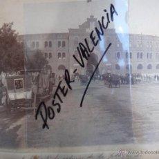 Fotografía antigua: FOTOGRAFIA ALBUMINA, 2 FOTOS MADRID , PLAZA TOROS Y PALACIO MARQUES SALAMANCA , VER , ORIGINAL. Lote 42508194
