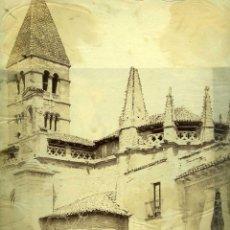 Fotografía antigua: FOTOGRAFIA VALLADOLID PARROQUIA DE LA ANTIGUA 1860 LAURENT. Lote 42512504
