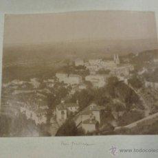 Fotografía antigua: LOTE DE 2 FOTOGRAFÍAS ALBÚMINAS CINTRA VISTA PARCIAL DE LA CIUDAD Y VISTA GENERAL. PORTUGAL. Lote 42649576