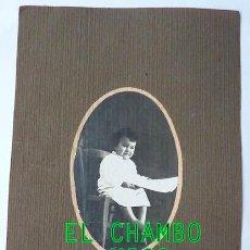 Fotografía antigua: ANTIGUA FOTOGRAFIA / RETRATO INFANTIL. BARCELONA. 1921.. Lote 42896253