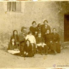 Fotografía antigua: MURCIA, FAMILIA HUERTANA POSANDO 1900-1920 . Lote 43012364