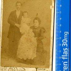 Fotografía antigua: MURCIA, LORCA FOTO FAMILIA F. RODRIGO FOTÓGRAFO . Lote 43012533