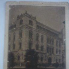 Fotografía antigua: DIFICILÍSIMA FOTOGRAFÍA ORIGINAL. FINALES DEL XIX. SEDE DE CORREOS, MÉXICO. D.F.. Lote 43043327