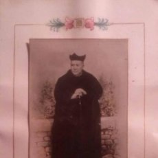 Fotografía antigua: ANTIGUA FOTOGRAFIA SOBRE PAPEL MINIADO DE MANUEL DOMINGO Y SOL TORTOSA TARRAGONA. Lote 43043814