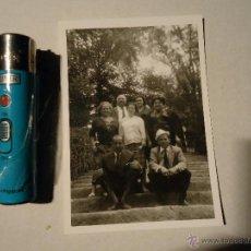 Fotografía antigua: ANTIGUA FOTOGRAFIA FOTO GRUPO. Lote 43087992