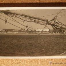 Fotografía antigua: ANTIGUA FOTOGRAFÍA - PALAMOS - GERONA - PRIMEROS AÑOS 40 -. Lote 43169867