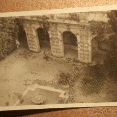 Fotografía antigua: ANTIGUA FOTOGRAFÍA - ALCAZAR DE SEVILLA - 1946 -. Lote 43189114
