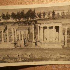 Fotografía antigua: ANTIGUA FOTOGRAFÍA - TEATRO ROMANO - MÉRIDA - 1946 -. Lote 43189164