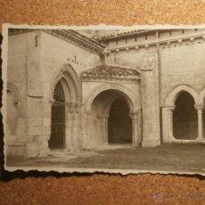 Fotografía antigua: ANTIGUA FOTOGRAFIA - MONASTERIO DE LA HUELGAS - BURGOS - 1946 -. Lote 43191812