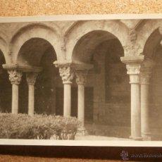 Fotografía antigua: ANTIGUA FOTOGRAFÍA - CLAUSTRO DE GERONA - 1946. Lote 43192004