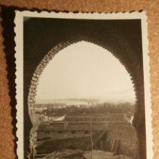 Fotografía antigua: ANTIGUA FOTOGRAFÍA - GIBRALFARO - MÁLAGA - 1946 -. Lote 43192162