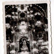 Fotografía antigua - FOTOGRAFIA ANTIGUA DE BASILICA Y VIRGEN ILUMINADAS - AÑOS 40 - 2ª - 43192439