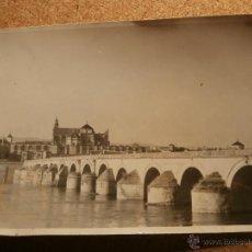 Fotografía antigua: ANTIGUA FOTOGRAFÍA - PUENTE ROMANO - CÓRDOBA - PRIMEROS DE LOS AÑOS 40 .. Lote 43201860