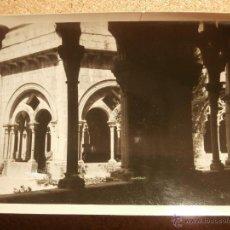 Fotografía antigua: ANTIGUA FOTOGRAFÍA - CLAUSTRO DE POBLET - 1946 -. Lote 43201929