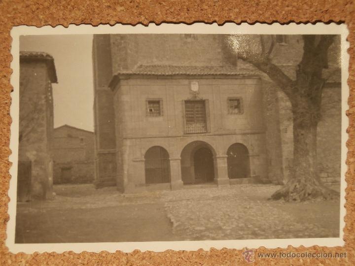 ANTIGUA FOTOGRAFÍA - MEDINACELI - SORIA - AÑO 1946 - 85 X 60 MM. (Fotografía Antigua - Albúmina)