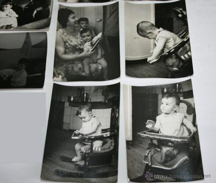 Fotografía antigua: LOTE DE 12 FOTOGRAFIAS - NIÑOS HACIA 1950 - Foto 2 - 43305069
