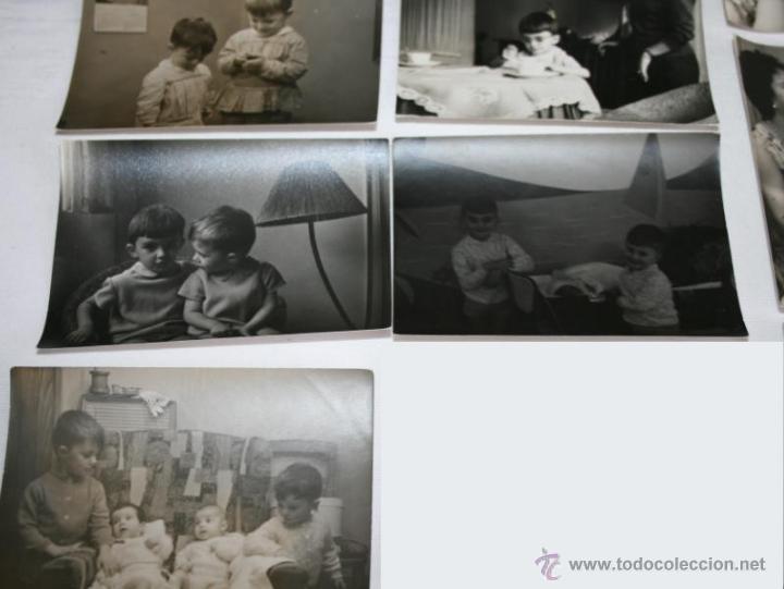 Fotografía antigua: LOTE DE 12 FOTOGRAFIAS - NIÑOS HACIA 1950 - Foto 3 - 43305069
