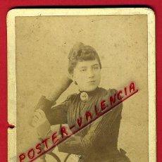 Fotografía antigua: FOTO , FOTOGRAFIA ALBUMINA ANTIGUA , FOTOGRAFO FEDERICO VELA VALENCIA , ORIGINAL ,B. Lote 43362360