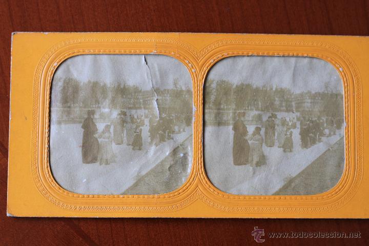 Fotografía antigua: Una albumina estereo y 5 fotos stereo.Muy buenas. - Foto 3 - 43581225
