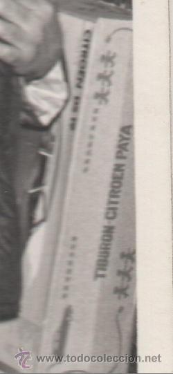 Fotografía antigua: NIÑOS ENTREGAN LA CARTA A LOS REYES MAGOS EN MADRID O AVILES HACIA 1960 - FOTO ANTIGUA - Foto 3 - 43865261