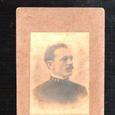 Fotografía antigua: FOTOGRAFIA ANTIGUA. MILITAR CUBANO. FOTO KARL C.HANOEL. 1903. MEDIDAS: 11 X 17CM.. Lote 43944127