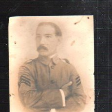 Fotografía antigua: FOTOGRAFIA ANTIGUA. MILITAR CUBANO. 10 X 14CM.. Lote 43944385
