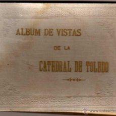 Fotografía antigua: ALBUM CON 12 FOTOGRAFÍAS DE TOLEDO.. Lote 44463556