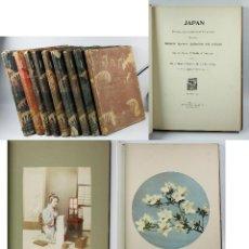Fotografía antigua: JAPAN,1897-98, BRINKLEY, EDITION DE LUXE. MÁS DE 200 ALBÚMINAS Y 9 COLLOTIPOS. 9 ÁLBUMES. VER FOTOS. Lote 44465154