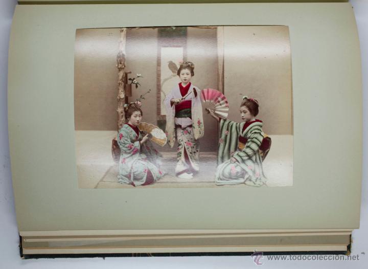 Fotografía antigua: JAPAN,1897-98, BRINKLEY, EDITION DE LUXE. Más de 200 albúminas y 9 collotipos. 9 álbumes. Ver fotos - Foto 4 - 44465154