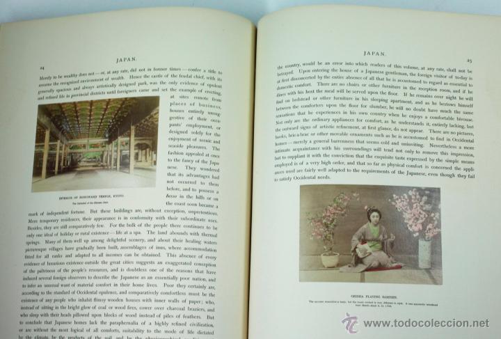 Fotografía antigua: JAPAN,1897-98, BRINKLEY, EDITION DE LUXE. Más de 200 albúminas y 9 collotipos. 9 álbumes. Ver fotos - Foto 5 - 44465154