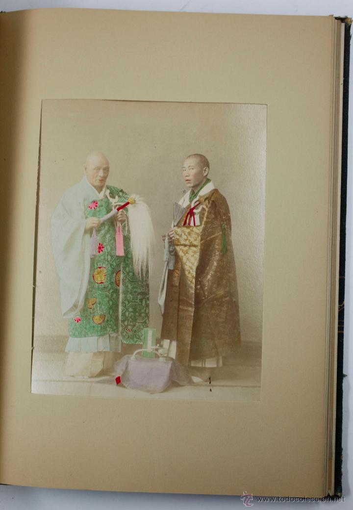 Fotografía antigua: JAPAN,1897-98, BRINKLEY, EDITION DE LUXE. Más de 200 albúminas y 9 collotipos. 9 álbumes. Ver fotos - Foto 7 - 44465154