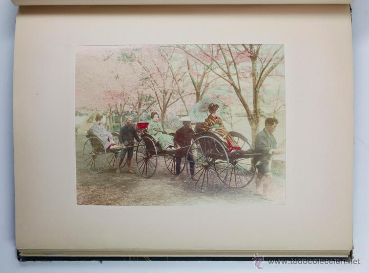 Fotografía antigua: JAPAN,1897-98, BRINKLEY, EDITION DE LUXE. Más de 200 albúminas y 9 collotipos. 9 álbumes. Ver fotos - Foto 9 - 44465154