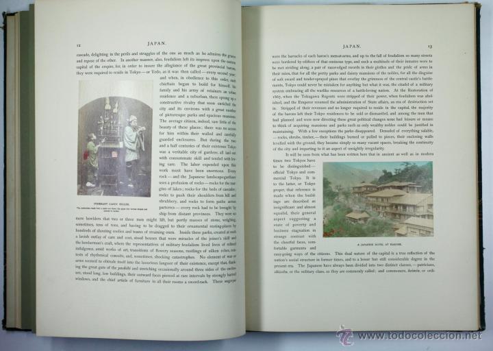 Fotografía antigua: JAPAN,1897-98, BRINKLEY, EDITION DE LUXE. Más de 200 albúminas y 9 collotipos. 9 álbumes. Ver fotos - Foto 11 - 44465154