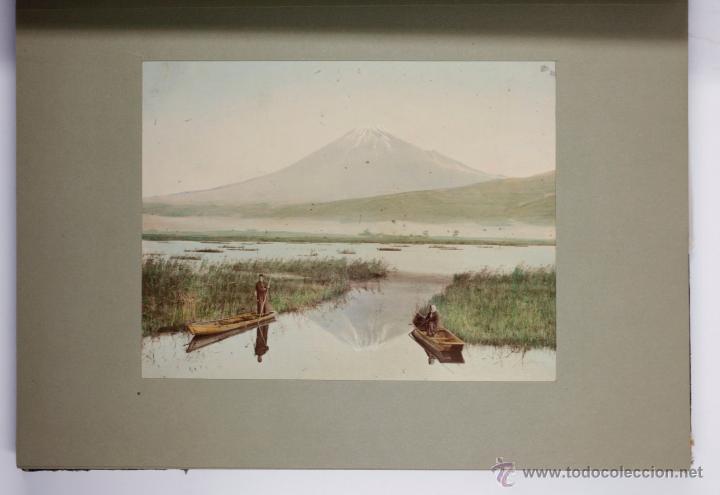 Fotografía antigua: JAPAN,1897-98, BRINKLEY, EDITION DE LUXE. Más de 200 albúminas y 9 collotipos. 9 álbumes. Ver fotos - Foto 13 - 44465154