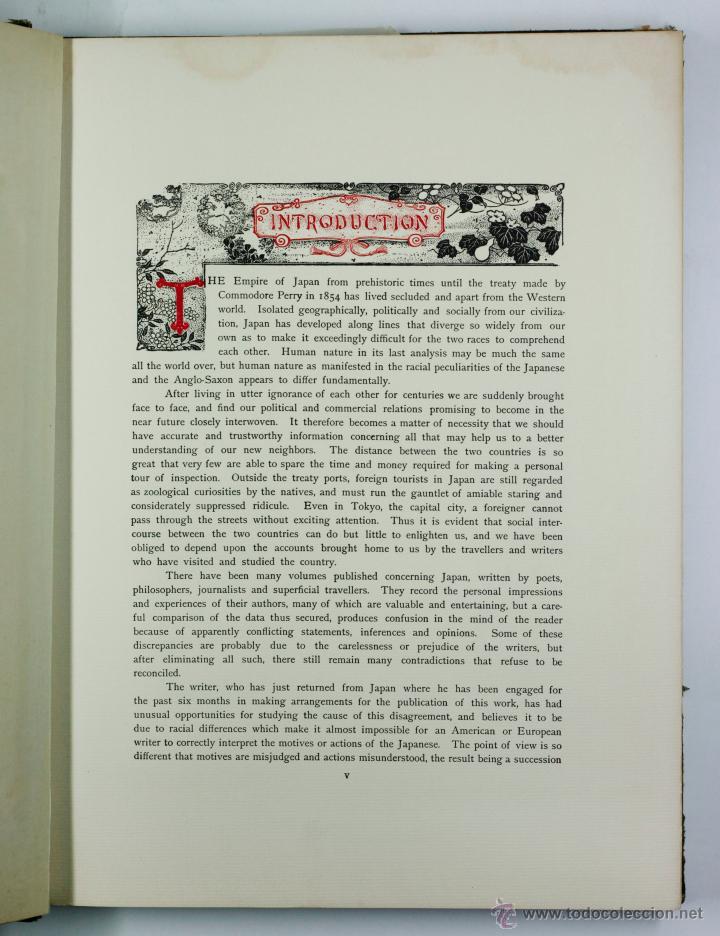 Fotografía antigua: JAPAN,1897-98, BRINKLEY, EDITION DE LUXE. Más de 200 albúminas y 9 collotipos. 9 álbumes. Ver fotos - Foto 14 - 44465154
