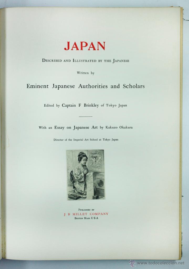 Fotografía antigua: JAPAN,1897-98, BRINKLEY, EDITION DE LUXE. Más de 200 albúminas y 9 collotipos. 9 álbumes. Ver fotos - Foto 15 - 44465154