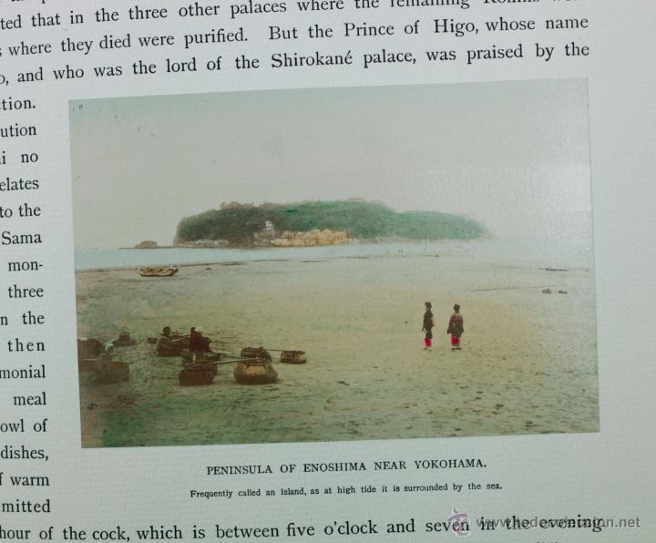 Fotografía antigua: JAPAN,1897-98, BRINKLEY, EDITION DE LUXE. Más de 200 albúminas y 9 collotipos. 9 álbumes. Ver fotos - Foto 21 - 44465154