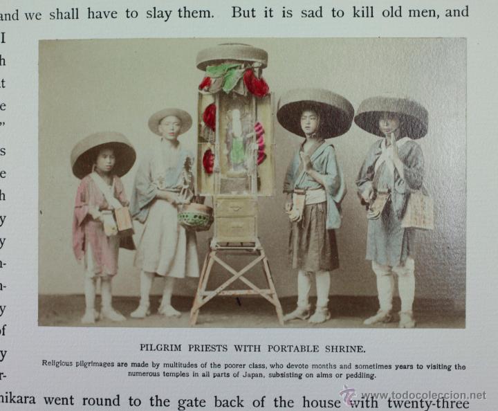 Fotografía antigua: JAPAN,1897-98, BRINKLEY, EDITION DE LUXE. Más de 200 albúminas y 9 collotipos. 9 álbumes. Ver fotos - Foto 24 - 44465154