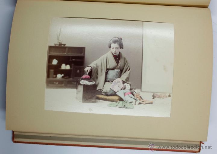 Fotografía antigua: JAPAN,1897-98, BRINKLEY, EDITION DE LUXE. Más de 200 albúminas y 9 collotipos. 9 álbumes. Ver fotos - Foto 26 - 44465154
