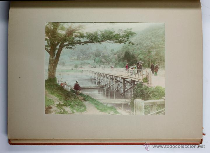 Fotografía antigua: JAPAN,1897-98, BRINKLEY, EDITION DE LUXE. Más de 200 albúminas y 9 collotipos. 9 álbumes. Ver fotos - Foto 27 - 44465154