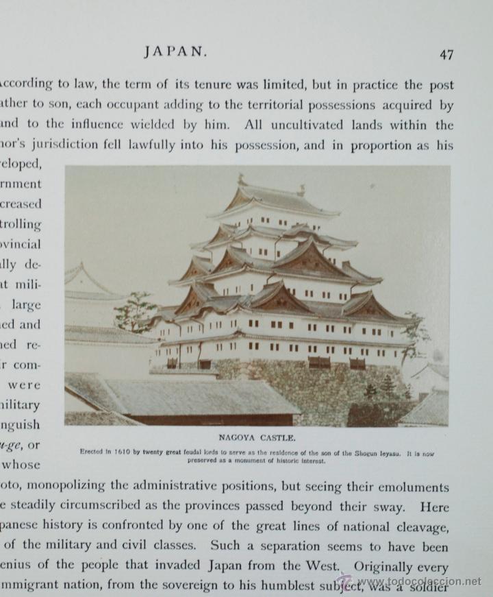 Fotografía antigua: JAPAN,1897-98, BRINKLEY, EDITION DE LUXE. Más de 200 albúminas y 9 collotipos. 9 álbumes. Ver fotos - Foto 28 - 44465154